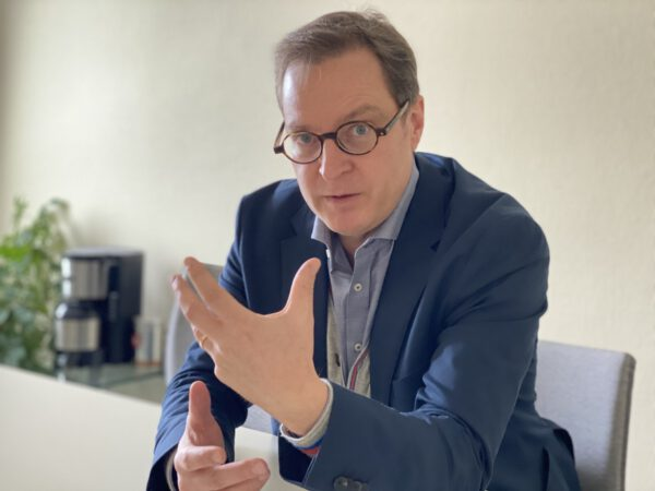 Martin Huber als Abgeordneter
