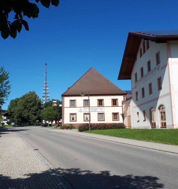 Ortsmitte Kirchweidach; Foto: Andreas Stadler