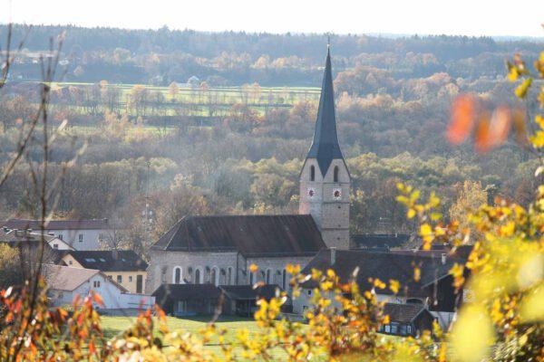 Ortsansicht Stammham; Foto: Gemeinde Stammham